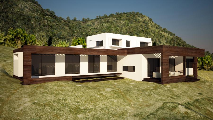Proyectos de casas rusticas casa de madera rstica - Proyectos de casas rusticas ...