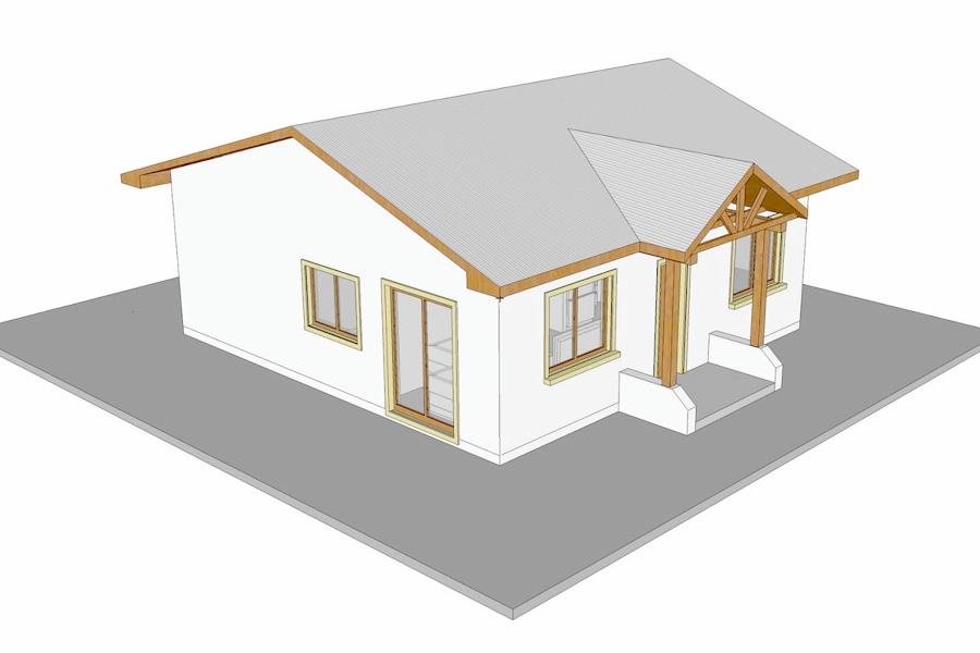 Proyecto casa unifamiliar affordable planos de casa - Proyecto casa unifamiliar ...