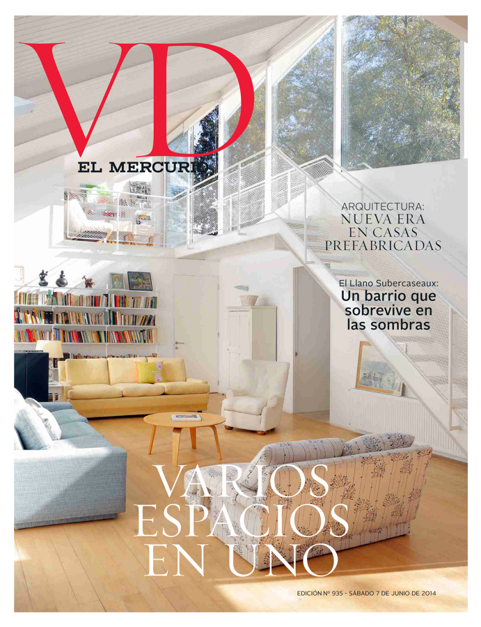 Publicacion en revista vivienda y decoracion del mercurio for Vivienda y decoracion online
