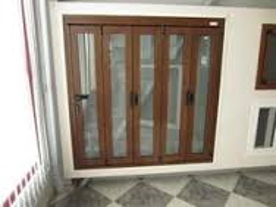 Puerta terraza aluminio cortinas de cristal with puerta - Puertas correderas terraza ...
