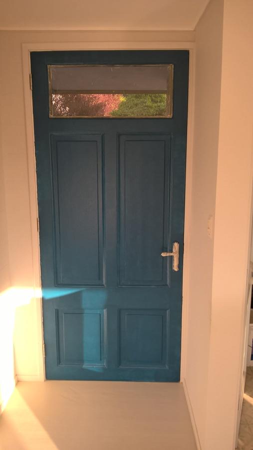 puerta principal por dentro
