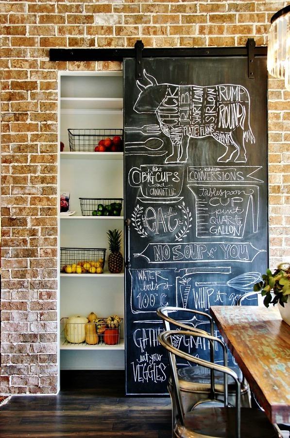 puertas correderas en cocina
