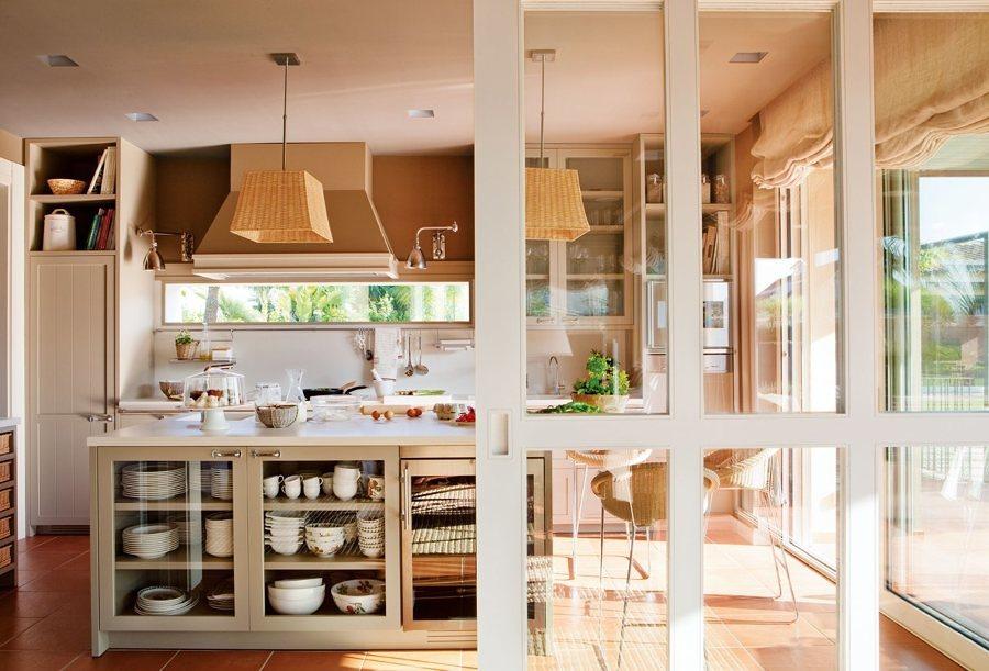 Open concept 10 ideas para tener una cocina abierta al for Separacion entre cocina y comedor