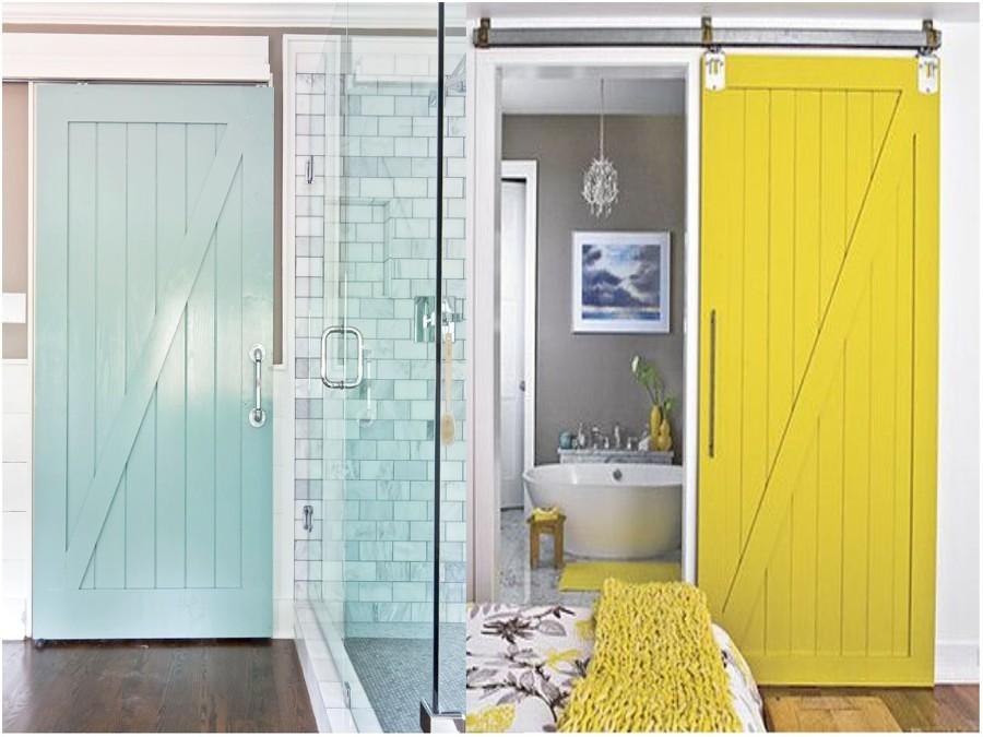 Puertas DIY de colores