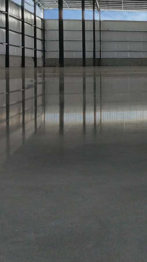 Pulido de piso en seco