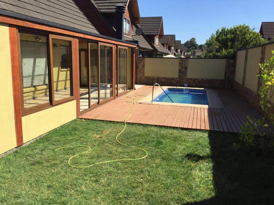 Valle de alcala ideas construcci n casa for Construccion piscina temperada