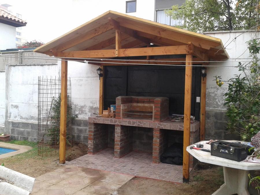 Foto quincho terminado de yoteloarreglo 78621 habitissimo for Como construir una pileta de ladrillos
