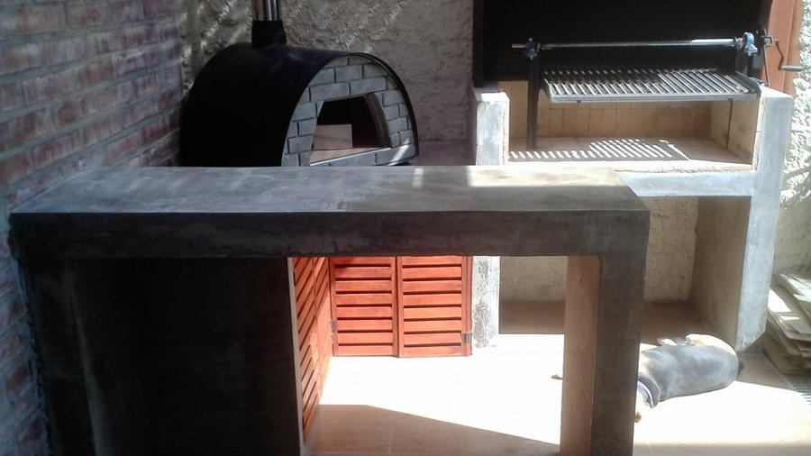 Quincho terminado con horno chileno