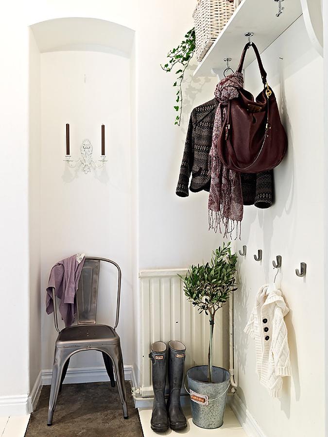 Recibidor estilo escandinavo