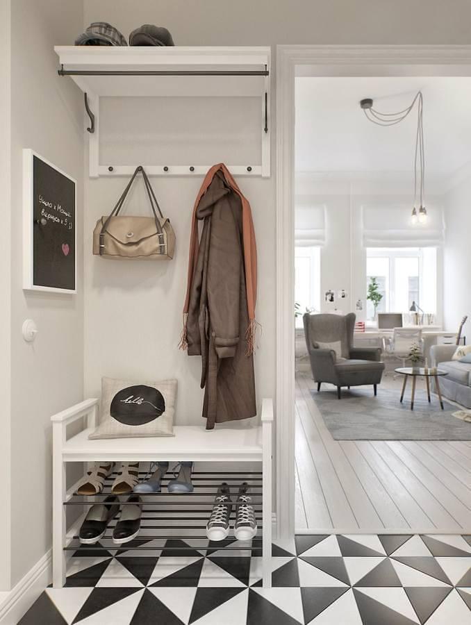 Hall minimalista