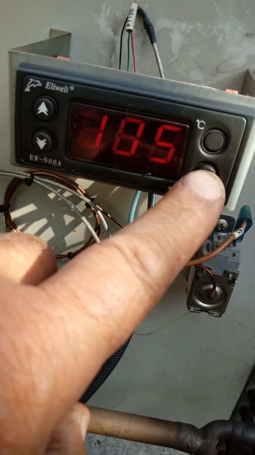 regulando temperatura