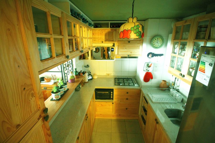 Remodelacion cocina Pino Oregon