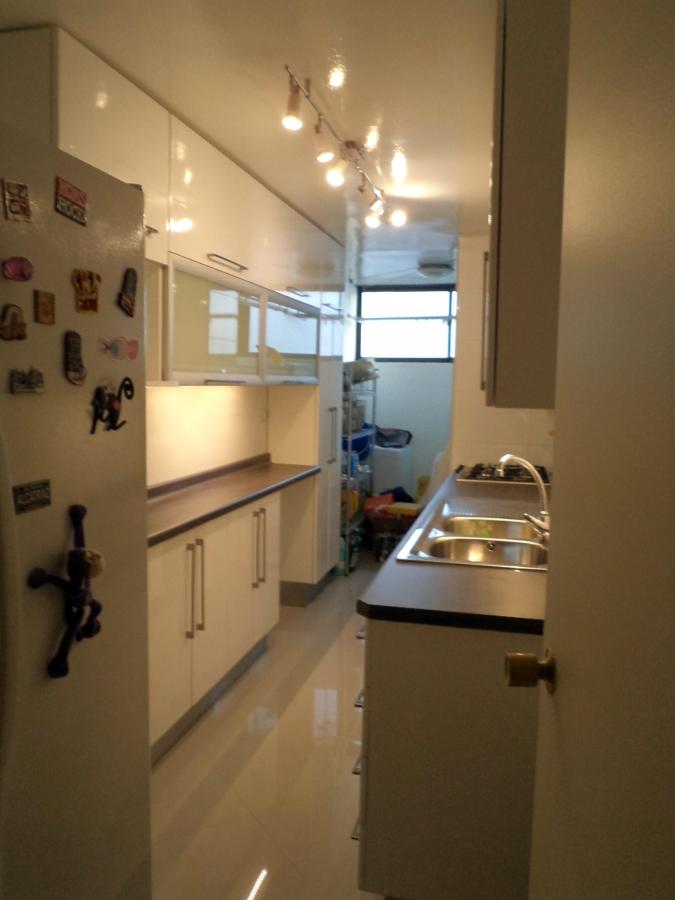 Remodelaci n total cocina de un departamento proyectos for Cocina departamento