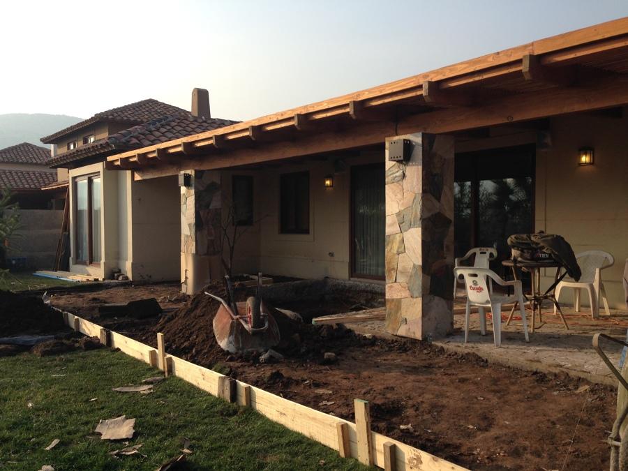 Remodelacion y ampliaci n de terraza chicureo ideas for Construccion de casas en terrazas