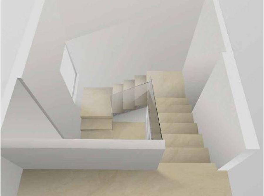 Render en Diseño Escalera Lapis&Caeli