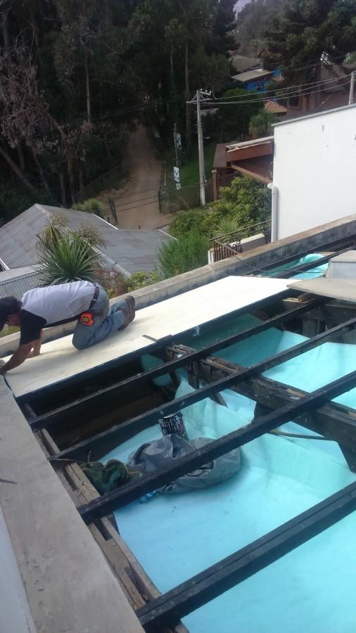 Renovación cambio completo techumbre