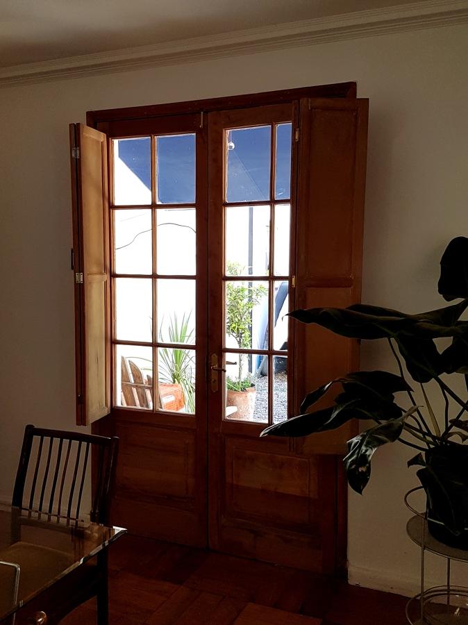Renovación de puerta clásica