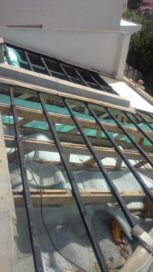 Reparación completa techumbre