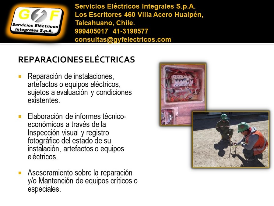 Reparación eléctrica