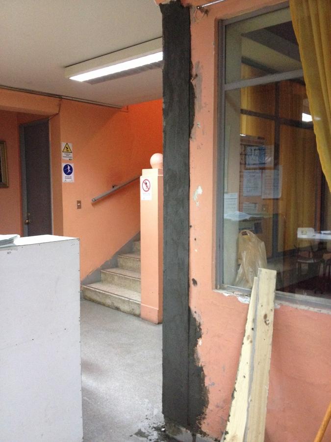Reparación Estructural Pilar Existente