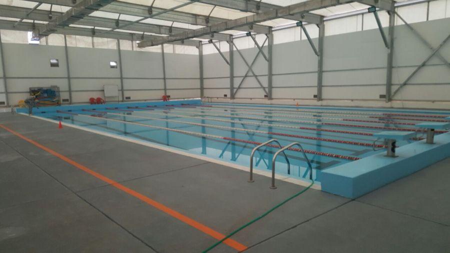 Reparacion piscina semi ol mpica universidad de las for Alberca las americas