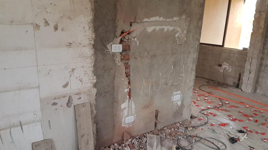 reposicion de muro