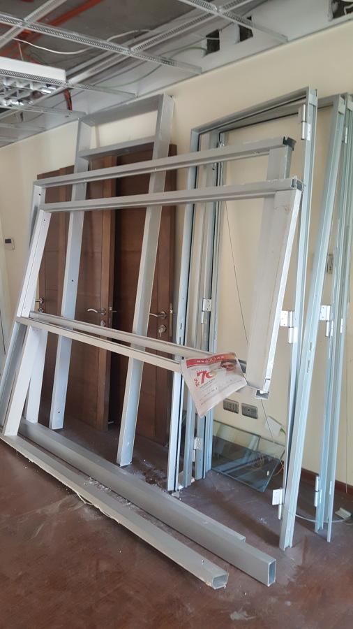 Sacando perfiles aluminio