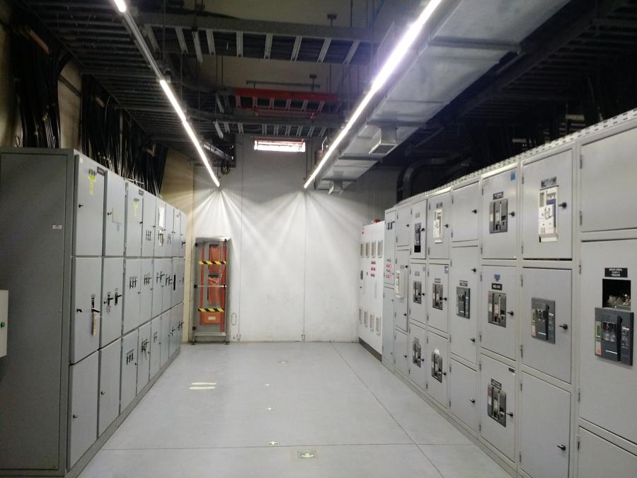 Sala de control eléctrica
