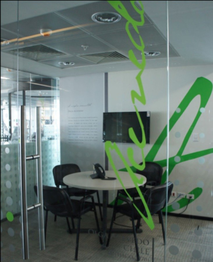 Sala de Reuniones,Grafica mural y señaletica