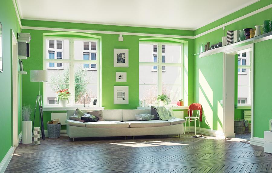 Living verde greenery