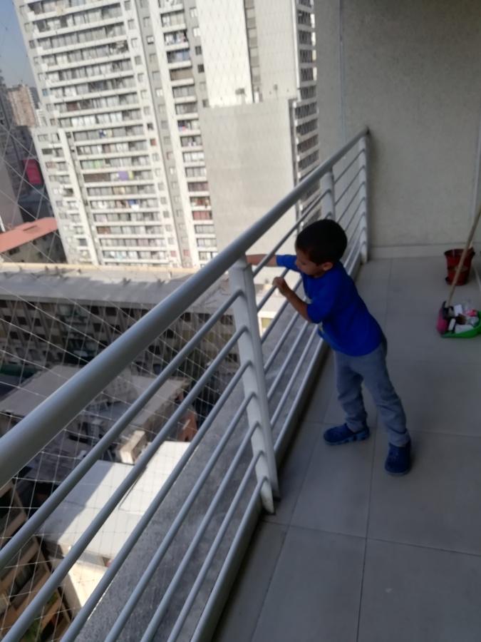 Santiago Centro, niño seguro