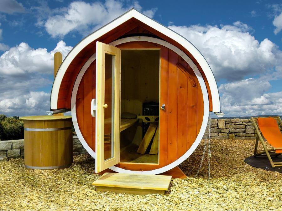 sauna artesanal