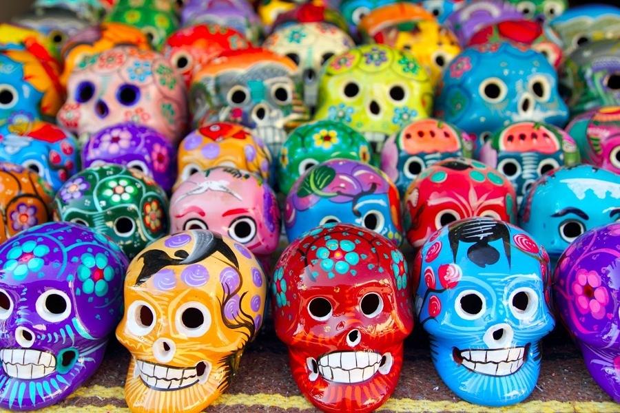 Foto Calaveras Para Decorar El Día De Los Muertos En México 100905