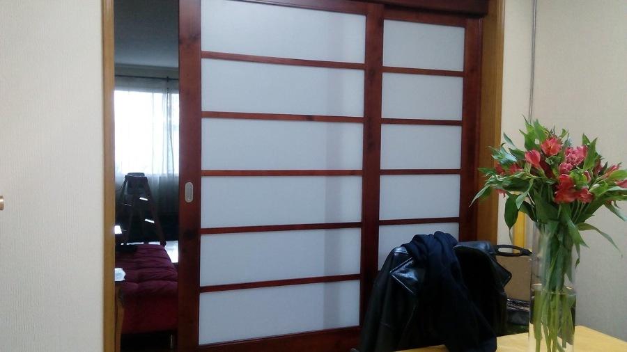 Separadores de ambiente puertas correderas plegables - Puertas correderas japonesas ...