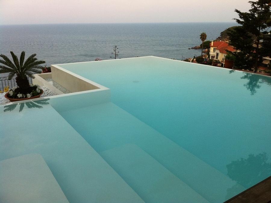 Qu tipo de piscina va con mi casa ideas construcci n for Piscina infinita construccion