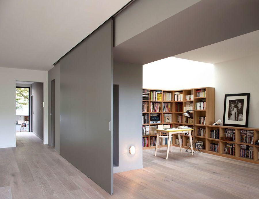 6 puertas correderas que querr s tener en tu hogar ideas - Rieles puerta corredera ...