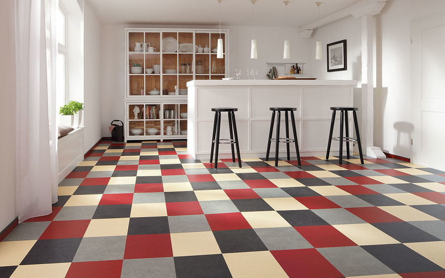 piso linoleo