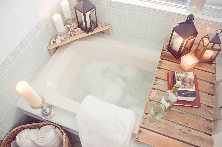 Tabla para la bañera