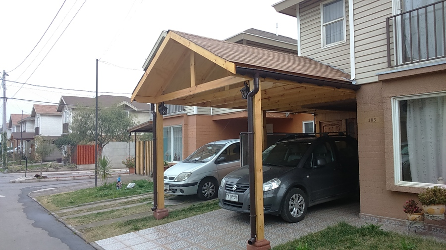 Trabajos realizados ideas construcci n casa for Garajes quinchos