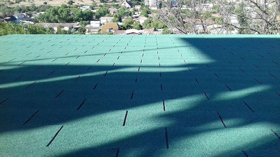 teja asfaltica instalada