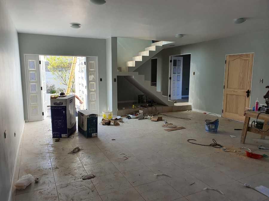 Terminaciones del primer piso.