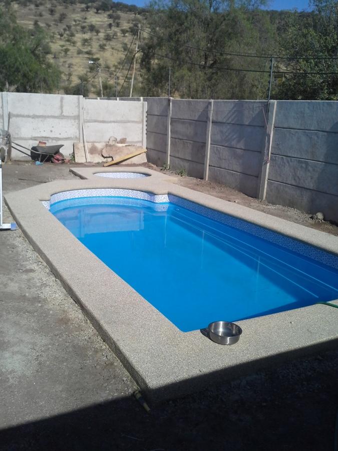 Instalaci n de piscina de fibra de vidrio ideas - Instalacion piscina ...