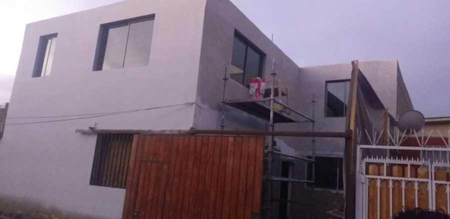 Terminando la fachada exterior
