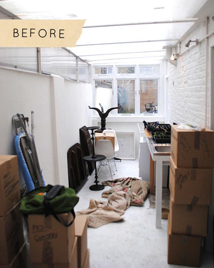 Antes de la remodelación