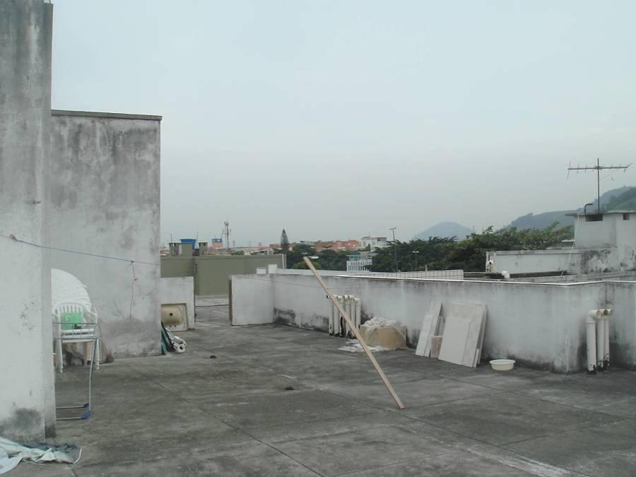 Terraza previa remodelación