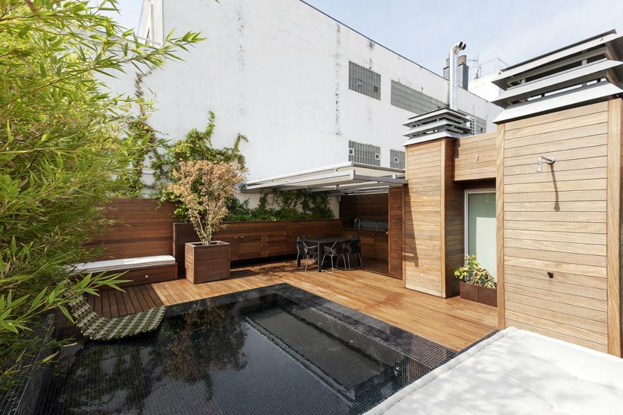 terraza ático