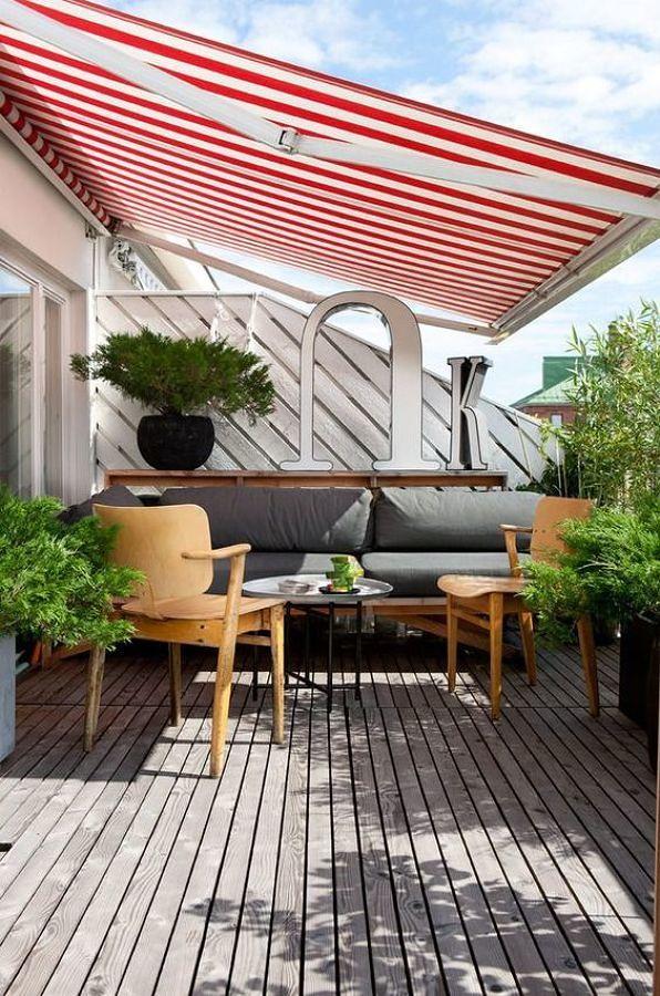 Foto terraza con toldo 157990 habitissimo - Terrazas con toldos ...