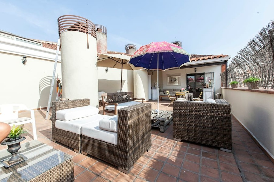 terraza multifuncional