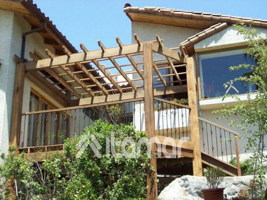 Foto terraza segundo piso en roble de itamar ltda 104899 for Terrazas 2do piso