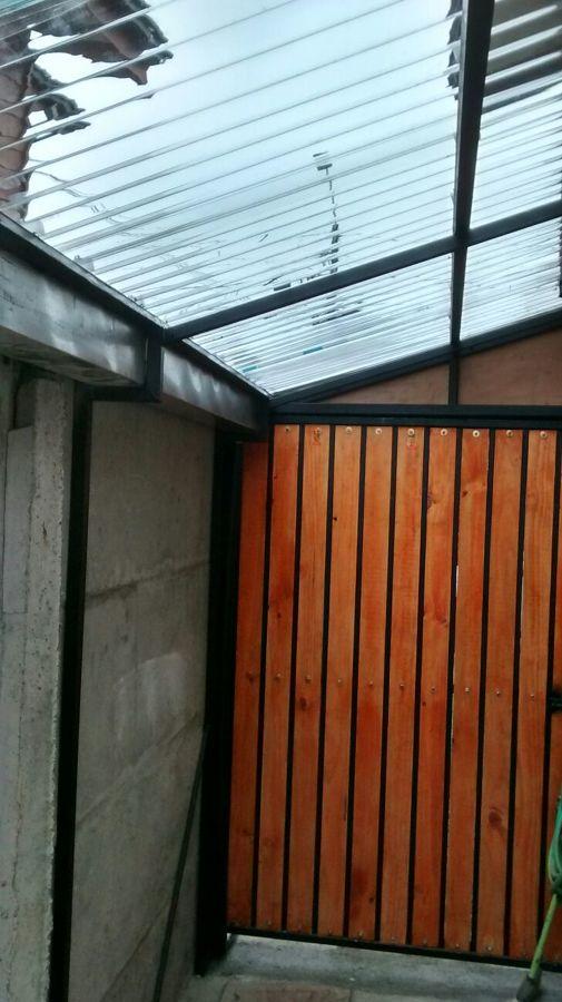 Proyecto terraza techada ideas carpinter a met lica - Garajes prefabricados precios ...